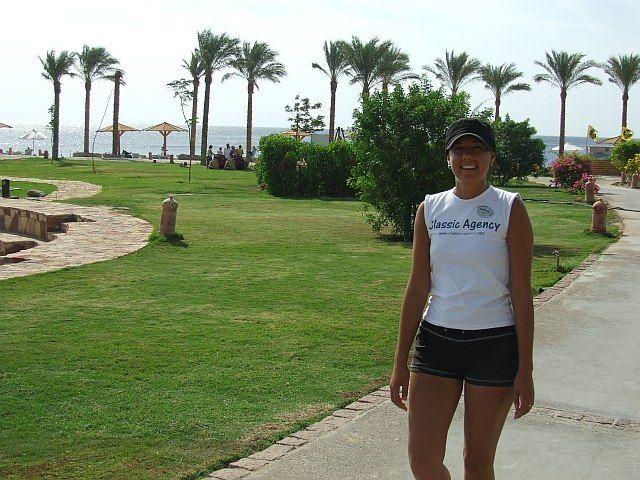 Zdjęcia: Taba, Półwysep Synaj, Miła obsługa hotelowa:), EGIPT