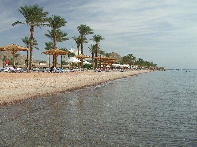 Zdjęcia: Taba, Zatoka Akaba, M.Czerwone, Półwysep Synaj, Plaża, EGIPT