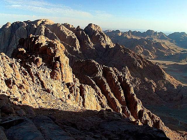 Zdjęcia: G. Mojżesza, Półwysep Synaj, W pobliżu G. Mojżesza, EGIPT