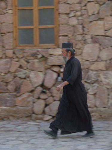 Zdjęcia: Klasztor Św. Katarzyny, Półwysep Synaj, Opiekun klasztoru, EGIPT