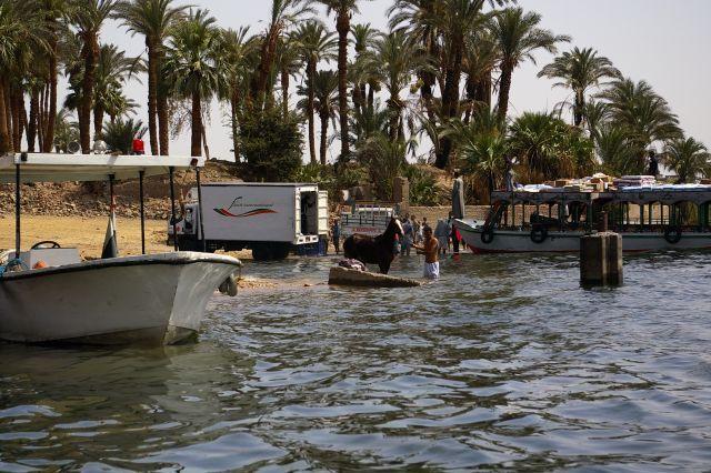 Zdjęcia: Luxor, Życie nad Nilem, EGIPT