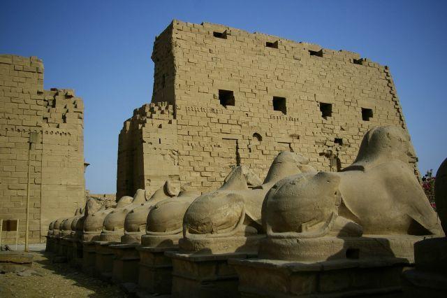 Zdjęcia: Karnak, Sfinksy, EGIPT