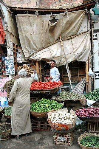 Zdjęcia: targ, Asuan, wszelkie dobra tu kupisz/miejscowy targ, EGIPT