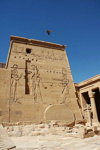 Zdjęcia: wyspa File, Asuan, świątynia kultu Izydy, EGIPT