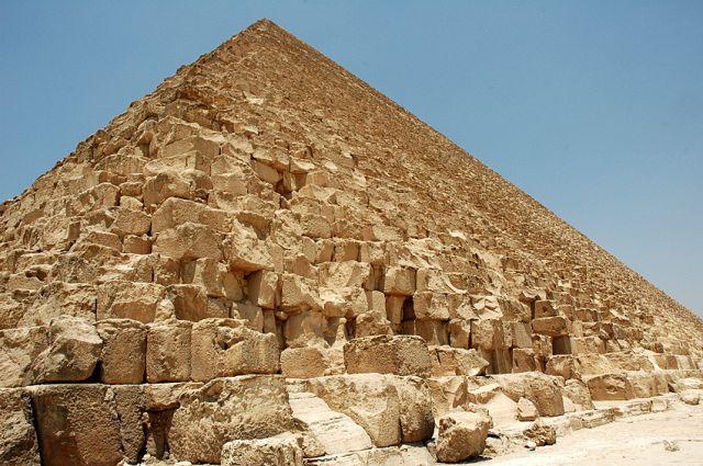 Zdjęcia: Giza, Kair, piramida Cheopsa - ta największa, EGIPT