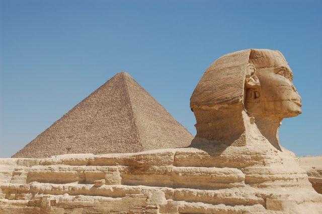 Zdjęcia: Giza, Kair, Sfinks, EGIPT