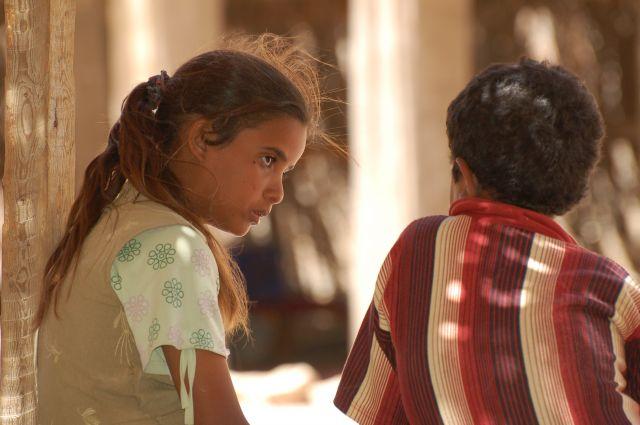 Zdjęcia: Dahab, Dzieci z wioski beduińskiej, EGIPT