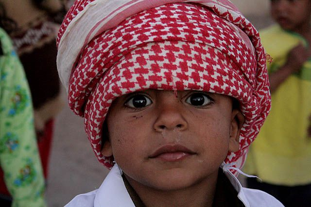 Zdjęcia: Dahab, mlody Beduin, EGIPT