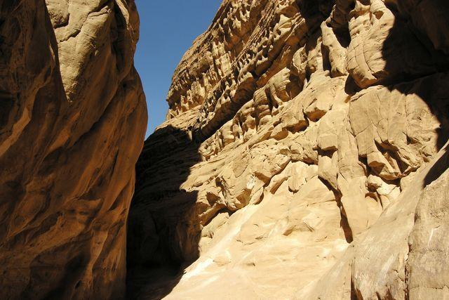 Zdjęcia: Kolorowy Kanion, Synaj, Przejście przez Kolorowy Kanion, EGIPT