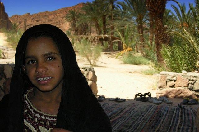 Zdjęcia: Ain Khodra, Synaj, W oazie Ain Khodra, EGIPT