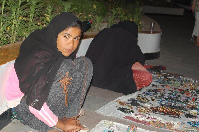 Zdjęcia: Sharm El Sheikh, Beduińska dziewczynka, EGIPT