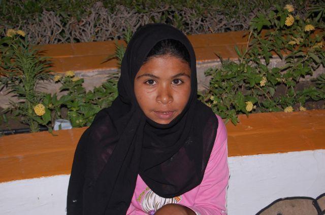 Zdjęcia: Sharm El Sheikh, Beduińska dziewczynka II, EGIPT