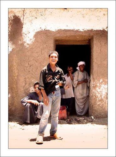 Zdjęcia: Okolice Nilu, Górny Egipt, Dzieci, EGIPT