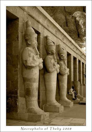 Zdjęcia: Górny Egipt, Kolumnada, EGIPT