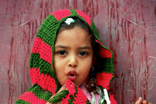 Zdjęcia: Hurghada, Dziewczynka, EGIPT