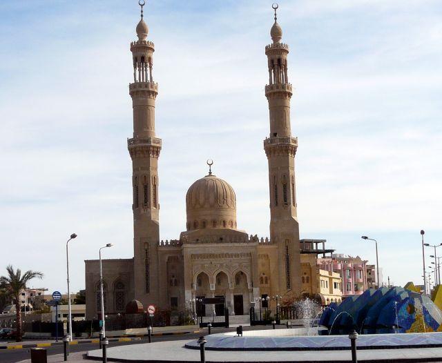 Zdjęcia: Hurghada, Afryka, Meczet, EGIPT