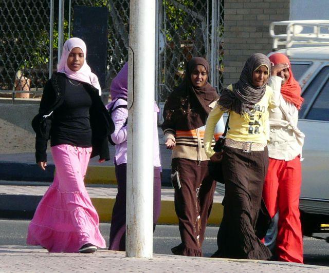 Zdjęcia: Hurghada, Afryka, Uczennice, EGIPT