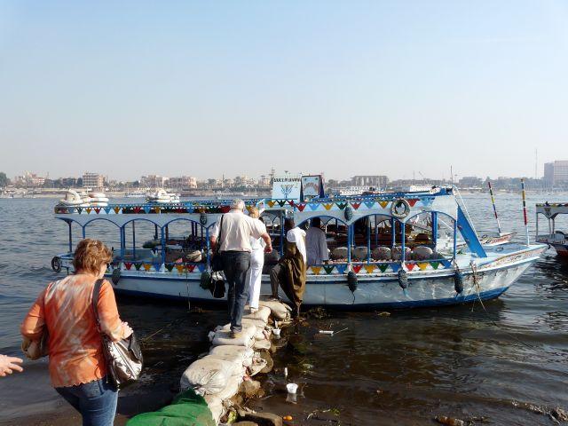 Zdjęcia: Luksor, Afryka, Trap po Nilu, EGIPT