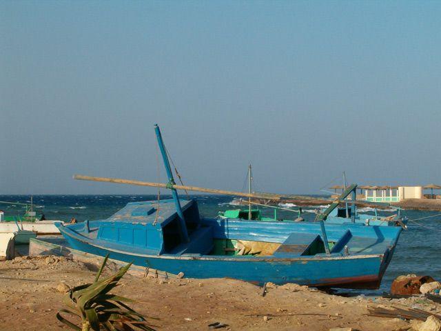 Zdjęcia: Hurghada, Morze Czerwone, Łódka, EGIPT