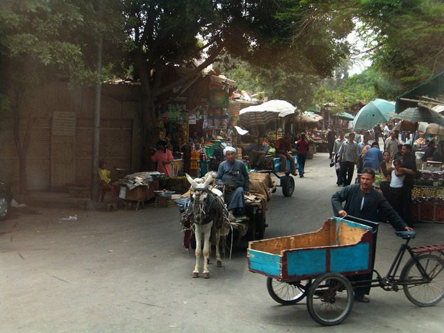 Zdjęcia: Kair, Uliczka , EGIPT