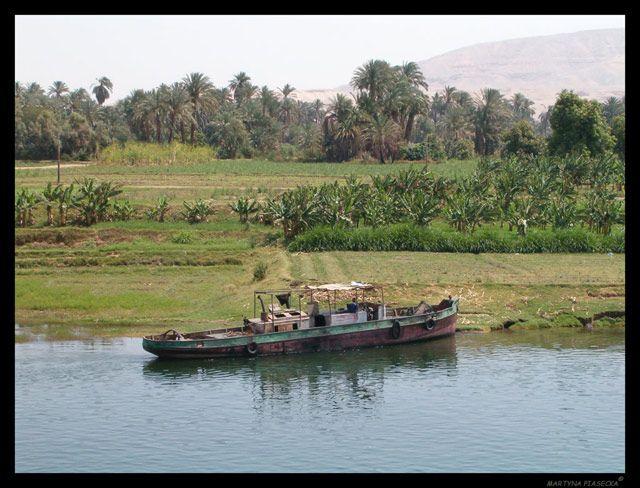 Zdjęcia: Okolice Luxoru, Nil, Statek, EGIPT