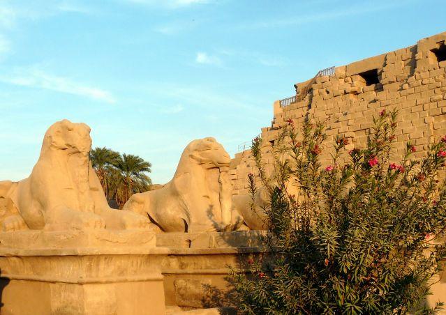 Zdjęcia: Karnaku/Luksor, Afryka, Ruiny świątyni  01, EGIPT