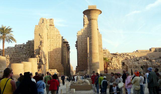 Zdjęcia: Karnaku/Luksor, Afryka, Ruiny świątyni  02, EGIPT