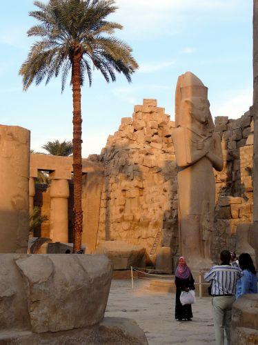 Zdjęcia: Karnaku/Luksor, Afryka, Ruiny świątyni  04, EGIPT