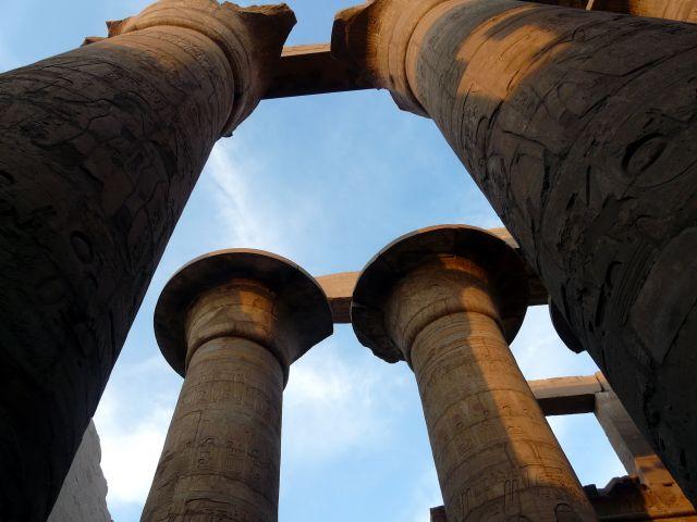 Zdjęcia: Karnaku/Luksor, Afryka, Ruiny świątyni  05, EGIPT
