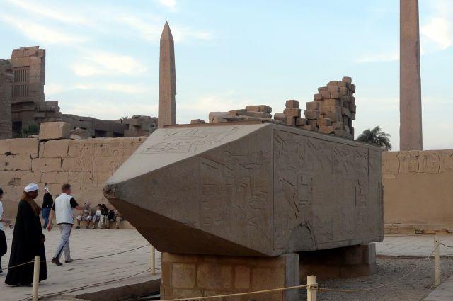 Zdjęcia: Karnaku/Luksor, Afryka, Ruiny świątyni  06, EGIPT