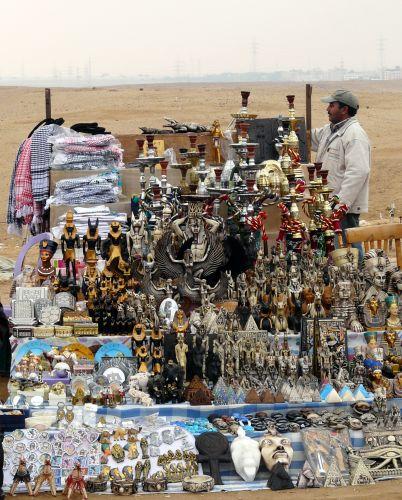 Zdjęcia: Kair/Giza, Afryka, Pod piramidami 03, EGIPT