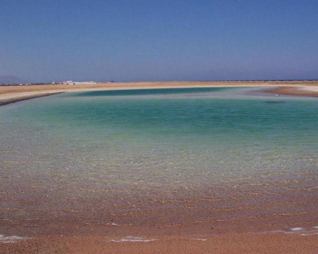 Zdjęcia: Dahab, Dahab, słone jeziorko, EGIPT