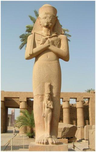 Zdjęcia: Karnak, Egipt środkowy, Jego Wysokość Ramzes II, EGIPT