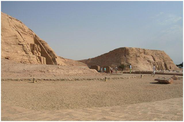 Zdjęcia: Abu Simbel, Egipt - część południowa, Abu Simbel, EGIPT