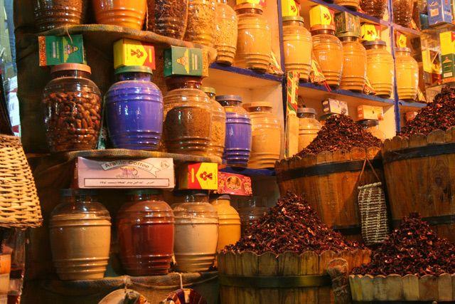 Zdjęcia: Stare Miasto, Hurghada, Przyprawy , EGIPT