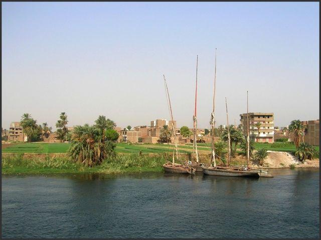 Zdjęcia: Nil, Egipt część południowa, Łódeczki, EGIPT