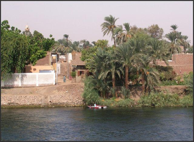 Zdjęcia: Nil, Egipt część południowa, Nad brzegami Nilu, EGIPT