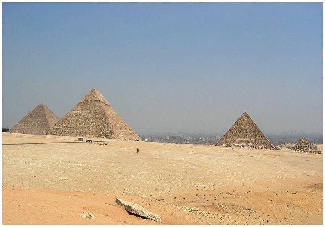 Zdjęcia: Kair Giza, Egipt północny, Piramidy w Gizie, EGIPT