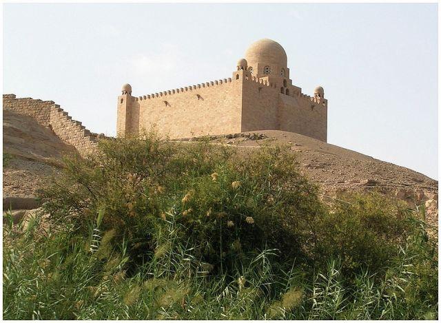 Zdjęcia: Asuan, Egipt południowy, Mauzoleum, EGIPT