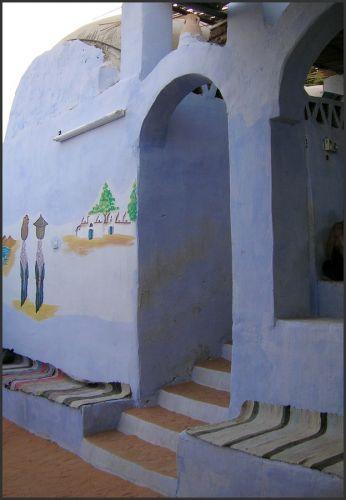Zdjęcia: okolice Asuanu, Egipt wschodni, Nubijska wioska, EGIPT