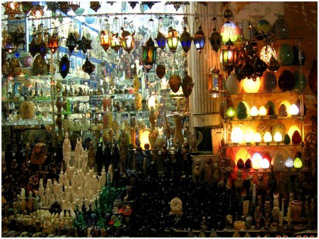 Zdjęcia: Hurghada, Egipt wschodni, Sklepik z pamiątkami, EGIPT