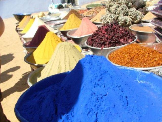 Zdjęcia: Bazar Assuański, Assuan, Spices, EGIPT