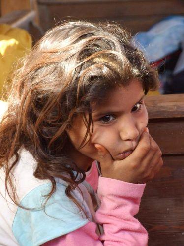 Zdjęcia: Dahab, Synaj, Mała Beduinka, EGIPT
