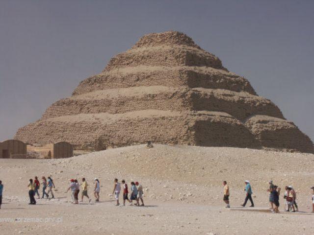 Zdjęcia: Sakkara, Piramida Dżezera, EGIPT