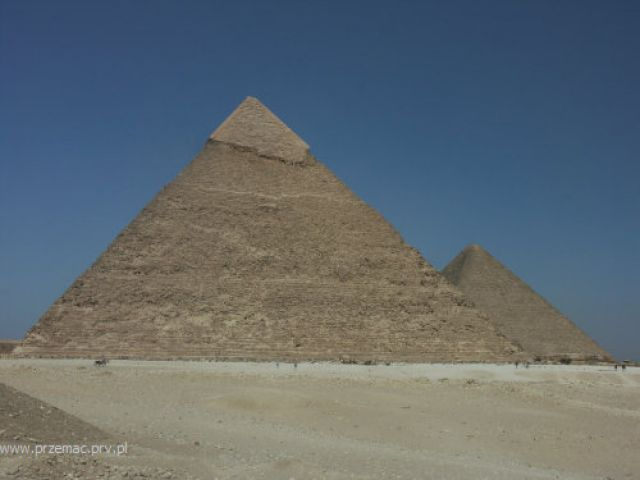 Zdjęcia: Giza, Chufu i Chafre, EGIPT