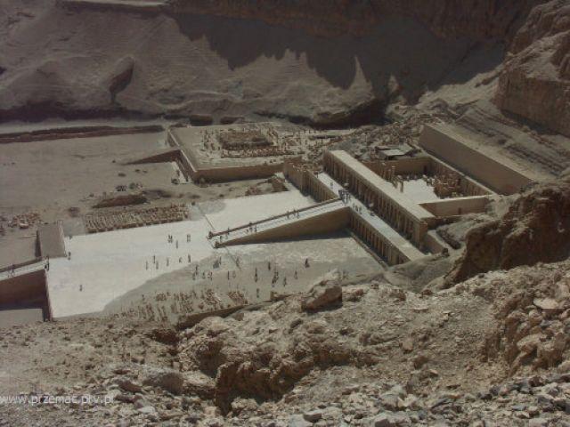 Zdjęcia: Teby, Świątynia Hatszepsut, EGIPT