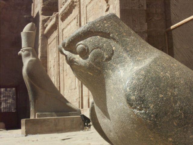 Zdjęcia: Edfu, Świątynia Horusa, EGIPT