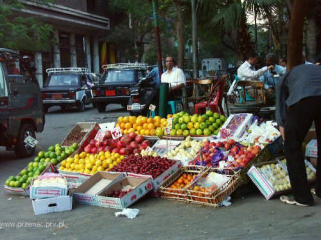 Zdjęcia: Kair, Stragan, EGIPT