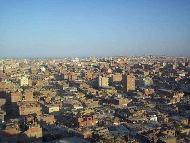 Zdj�cia: Hurghada, Hurghada-panorama, EGIPT