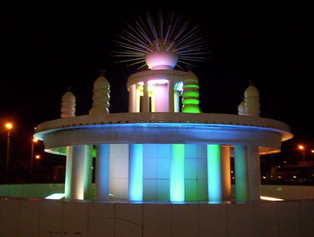 Zdjęcia: Hurghada, Fontanna w Hurghadzie, EGIPT